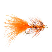 Wolly Bugger Beadhead Orange Stl.6