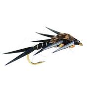 2 Bead Stonefly Black Stl.12
