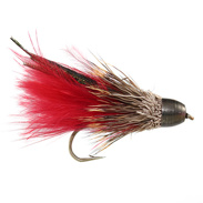 Muddler Marabou Red Conehead Stl.8