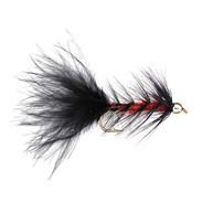 Wolly Bugger Beadhead Red Stl.6